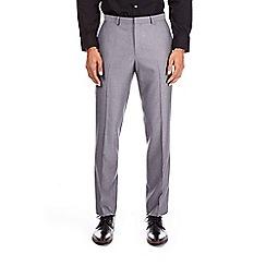 Burton - Charcoal slim fit pindot trousers
