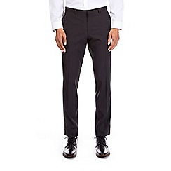 Burton - Black skinny fit stretch pinstriped trousers