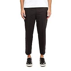 Burton - Black lightweight stretch trousers
