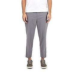 Burton - Grey lightweight stretch trousers