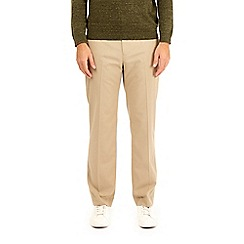 Burton - Taupe tailored fit stretch trousers