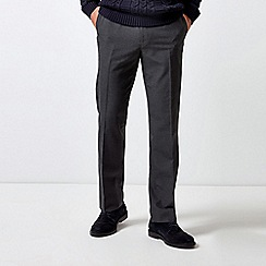 Burton - Charcoal Tailored Fit Stretch Trousers
