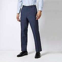 Burton - Tailored Fit Mini Check Trousers