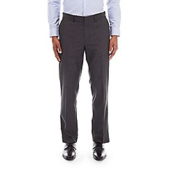 Burton - Charcoal tailored fit striped trousers