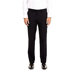 Burton - Navy tailored fit stretch trousers