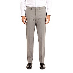 Burton - Grey tailored fit stretch trousers