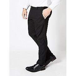 Burton - Big & tall black tailored fit trousers