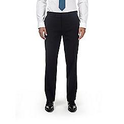 Burton - Black tailored fit stretch trousers