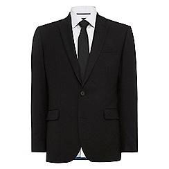 Burton - Black essential tailored fit suit jacket