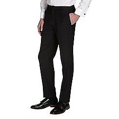 Burton - Black essential tailored fit suit trousers