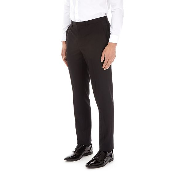 Black fit trousers tuxedo slim essential Burton ZfqxRnwBB