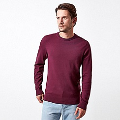 Burton - Raspberry crew neck jumper