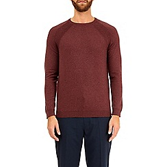 Burton - Brown crew neck jumper