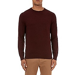 Burton - Burgundy crew neck jumper