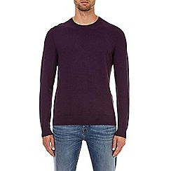 Burton - Purple core crew neck jumper