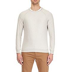 Burton - Cream fine knit jumper
