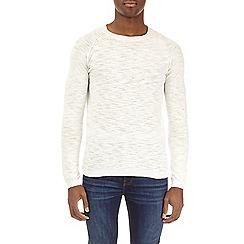 Burton - Ivory fine knit sweater