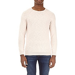 Burton - Cream fine knit sweater