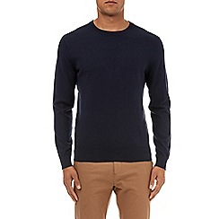 Burton - Navy crew neck jumper