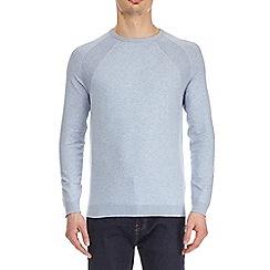 Burton - Blue crew neck jumper