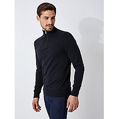 Burton - Black half zip jumper