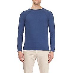 Burton - Cobalt blue crew neck jumper