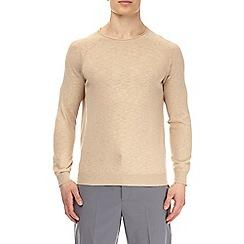 Burton - Sand fine knitted jumper