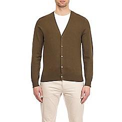 Burton - Khaki knitted cardigan