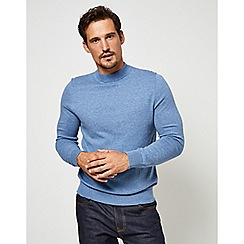 Burton - Blue turtle neck jumper
