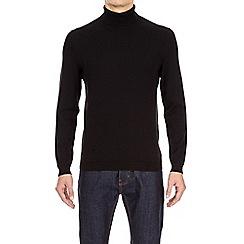 Burton - Black roll neck jumper