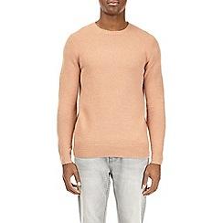 Burton - Peach soft textured jumper
