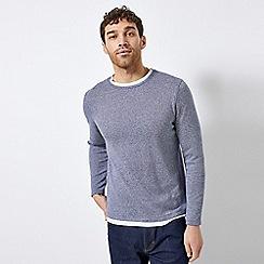Burton - Blue Knitted Jumper