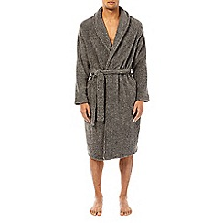 Burton - Grey twist robe