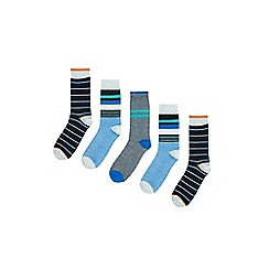 Burton - 5 pack bright striped socks