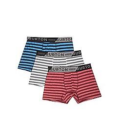 Burton - Three pack stripe trunks