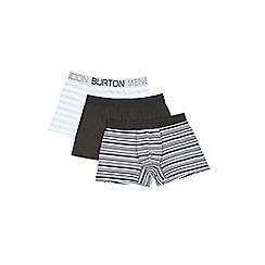 Burton - 3 pack monochrome trunks