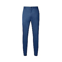 Burton - Blue stretch slim fit chinos