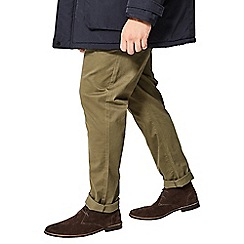 Burton - Slim fit stretch khaki chinos