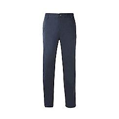 Burton - Big & tall navy slim fit stretch chinos