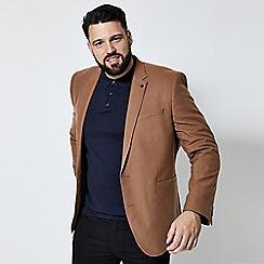 Burton - Tan wool look blazer