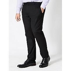 Burton - Big & tall black essential skinny fit jeans