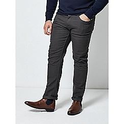 Burton - Charcoal 5 pocket slim fit jeans