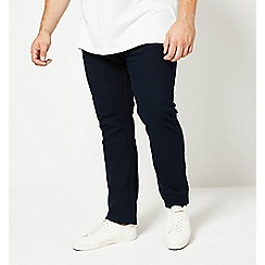 Burton - Big & tall indigo slim fit 5 pocket jeans