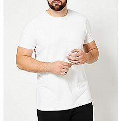 Burton - Big and tall black muscle fit t-shirt