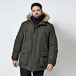 Burton - Big & tall khaki oak parka jacket