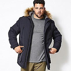Burton - Big and tall navy oak parka