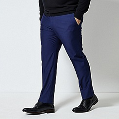 Burton - Blue textured trousers