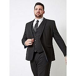 Burton - Black Essential Tailored Fit Stretch Suit Jacket