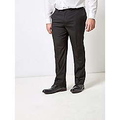 Burton - Black essential stretch tailored fit suit trousers