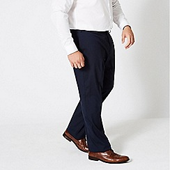 Burton - Navy Tailored Fit Essential Stretch trousers